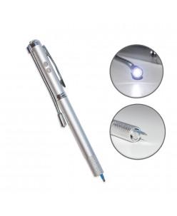 Microblading laikiklis su LED lempute U formos adatai