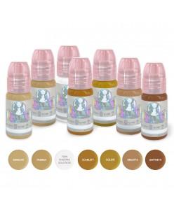Perma Blend Blondes antakių pigmentų rinkinys 7 x 15ml.