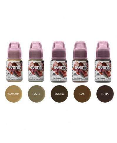 Perma Blend Evenflo pigmentai antakiams 15 ml. (1 vnt.)