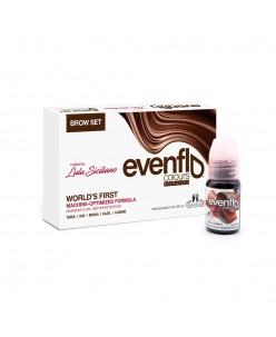 Perma Blend Evenflo antakių pigmentų rinkinys 15 ml. (5 vnt.)