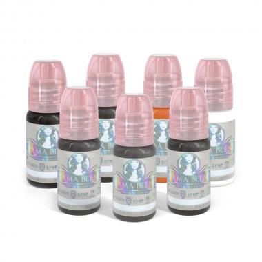 Perma Blend galvos odos pigmentacijos rinkinys 7 x 15 vnt.
