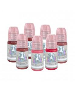 Perma Blend Sultry Lip lūpų pigmentų rinkinys 15 ml. (7 vnt.)