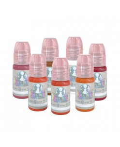 Perma Blend Sweet Lip lūpų pigmentų rinkinys 15 ml. (7 vnt.)