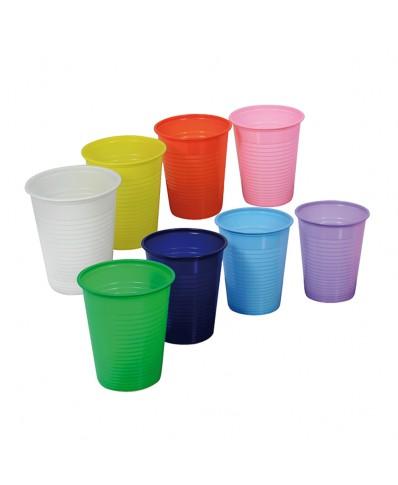 Plastikinės vienkartinės stiklinės 100 vnt.