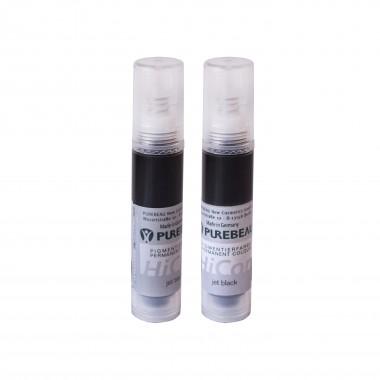 Purebeau beoris pigmentas akims 10ml (Jet black)