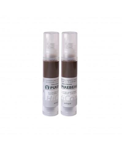 Purebeau beorės pakuotės pigmentas antakiams 10ml (Antique)