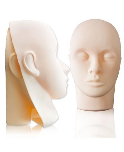 Komplektas (Manekeno galva + 3 guminės kaukės)