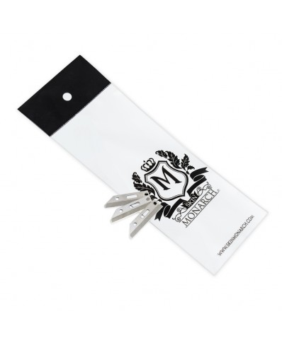 Skin Monarch antakių skustuvo peiliukai (12vnt.)