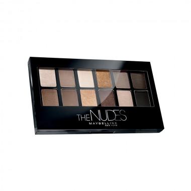 Maybelline The Nudes akių šešėlių paletė 9,6 g.