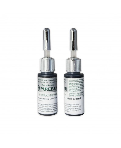 Purebeau pigmentai akims triple X black (10ml.)