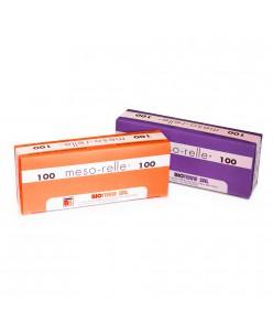 Meso-relle® 30G x 4mm / 6mm / 12mm/ 25mm (1vnt.)