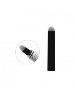 U formos Microblading 18-galė adata (Black)