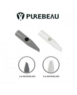 Purebeau antgalis 3er - 5er microblading adatoms (1 vnt.)
