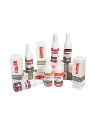 Goochie pigmentai (Micro Pigment Cosmetic Color) 15ml.