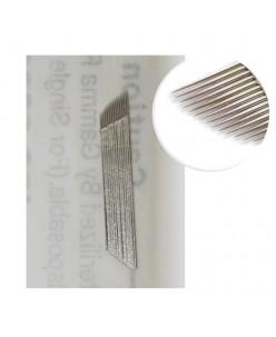 Microblading B&G 15-galė adata (platinum)