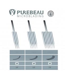 Purebeau FlaT pigmentation adatos (3F, 5F, 7F) 1 vnt.