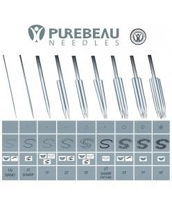 """Purebeau adatos """"T"""" (1T, 2T, 3T, 5T, 7T, 9T) 1vnt."""