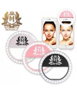 Skin Monarch apšvietimo žiedas išmaniajam telefonui
