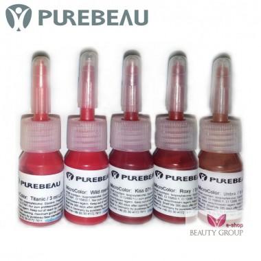Purebeau pigmentai lūpoms (3ml.)