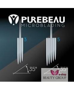 Purebeau microblading 3-galė adata (aparatui)