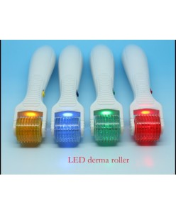 LED vibruojantis dermaroleris (0,5 mm.)