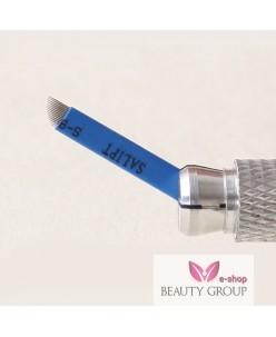 Microblading 11-galė adata (Micro Super Sharp-Blue)