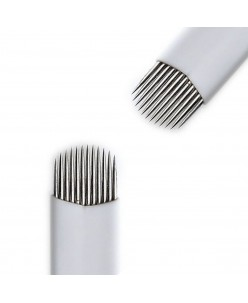 U formos Microblading 12-galė adata