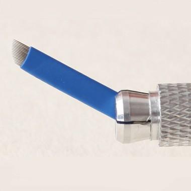 16-galė Microblading adata (Super Sharp-Blue)