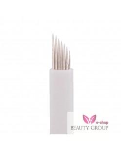 Microblading 7-galė adata (White)