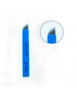 Microblading 12-galė adata (Micro Super Sharp-Blue)