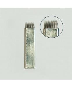 Microblading 14-galė šešėliavimo FLEXY adata (PLATINUM)