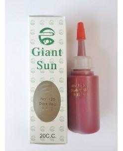 Tamsiai raudonas (No 125) pigmentas (20 ml.)