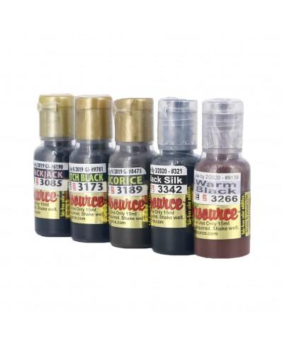 Kolorsource pigmentai akims (15 ml.)