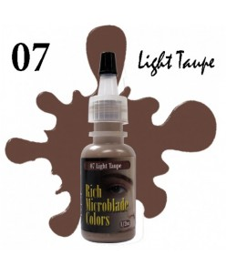 Rich Microblade Colors Pigmentas Light Taupe (15ml.)