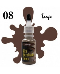 Rich Microblade Colors Pigmentas Taupe (15ml.)