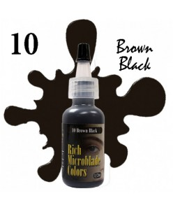Rich Microblade Colors Pigmentas Brown Black (15ml.)