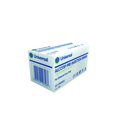 ALCOTIP Prieš procedūrinės sterilios servetėlės (100vnt.)
