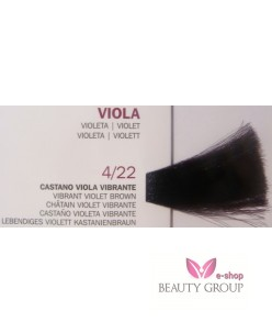 Roverhair Pure color 4/22 Vibrant Violet Brown 100 ml.