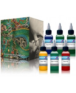Intenze Japaneze Dragon Color Kit 30 ml. 6 vnt
