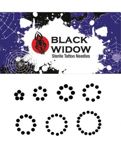 Black Widow RS apvali adata spalvinimui (5 vnt.)