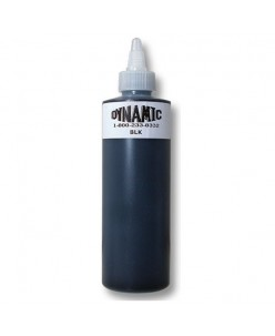 Dynamic Black Tattoo Ink juodas pigmentas (240ml.)