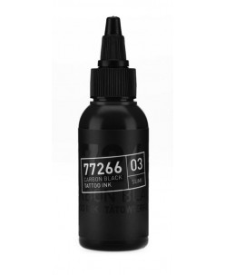Carbon black tattoo ink (01 Sumi) 50 ml.