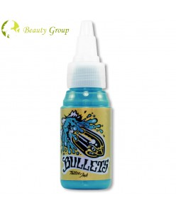 Bullets pigmentas tatuiruotėms (HONOLULU BLUE) 35ml.
